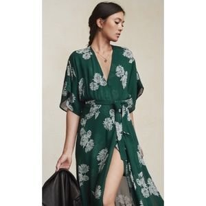 Reformation Winslow dress - small S - green floral